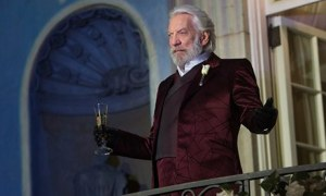 "Donald Sutherland: ""I have huge admiration for President Snow"" Do you embrace the dystopian vision as well, Mr S?"