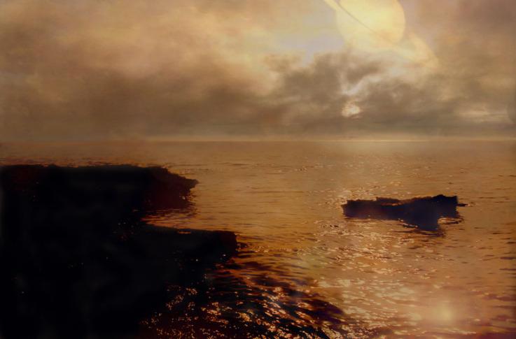 Kraken Mare The Largest Lake Of Titan Bradscribe