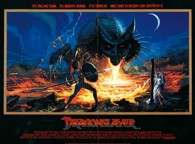 The awesome movie poster that sagged on my bedroom wall for nearly twenty years