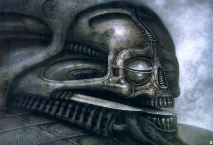 DUNE VI by HR Giger