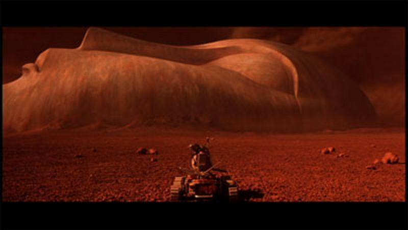 mission to mars face scene-#main