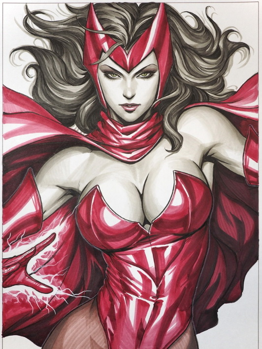 scarlet-witch-artgerm